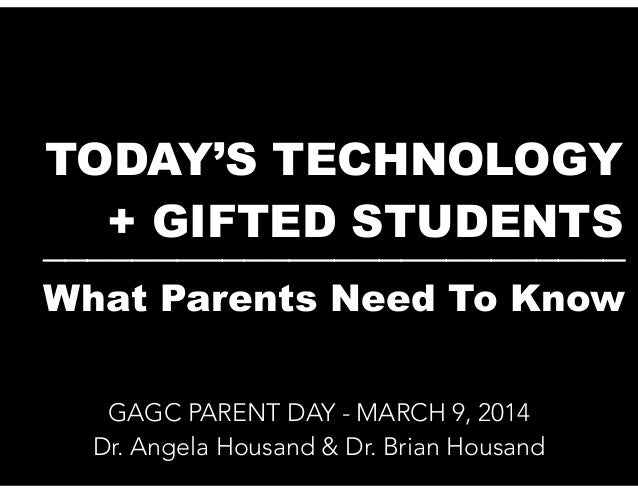 Raising Gifted Kids in a Digital Age