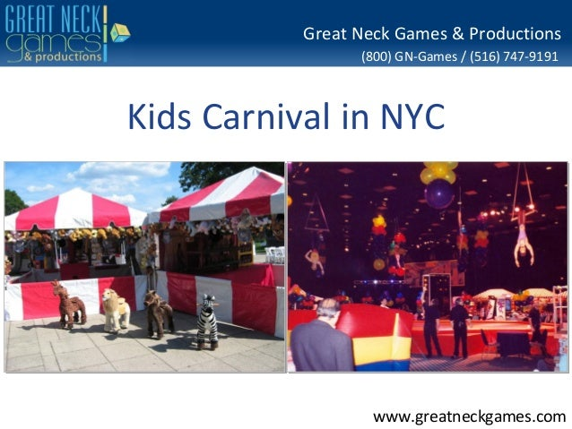 Kids Carnival Party Rental - NY Event Specialists Serving Manhattan, Long Island and Connecticut