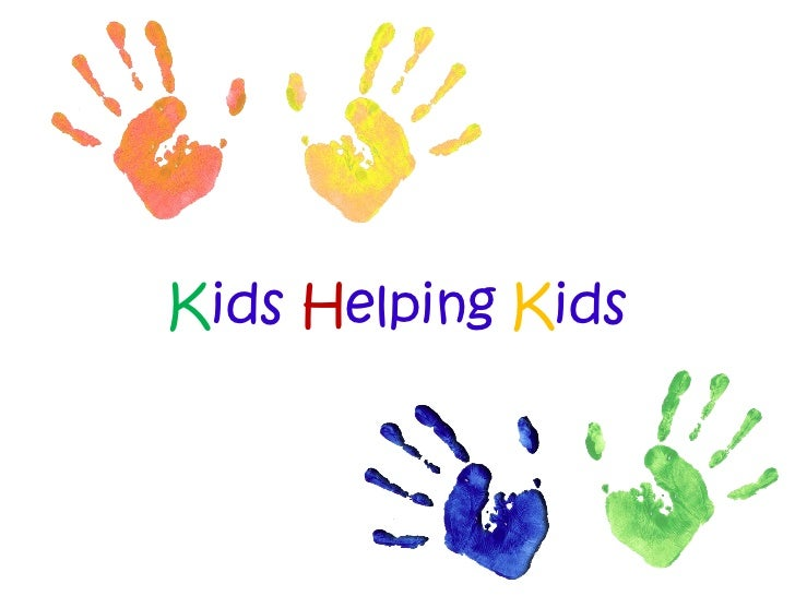 Kids helping kids