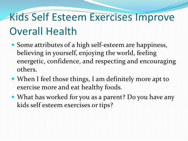 self esteem and respect essay This essay is about self-esteem and how to build positive self-image to feel sense of self-worth and self-respect depened upon you and your self-esteem.
