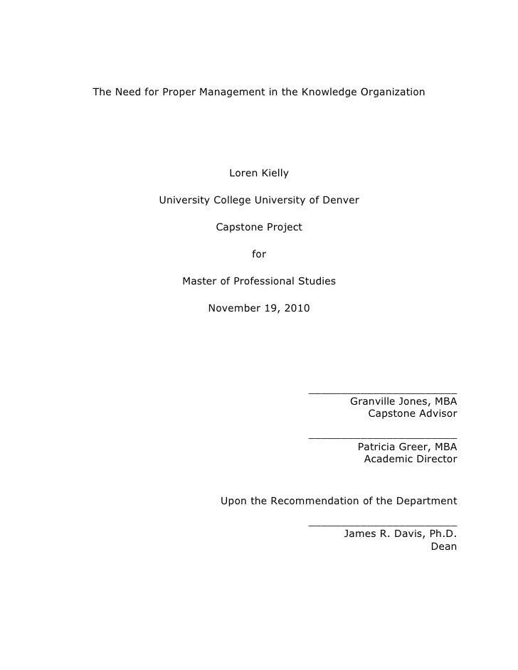 organizational observation essay