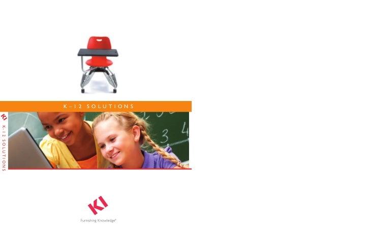 Longo KI School Classroom Furniture Catalog (2012) catalog