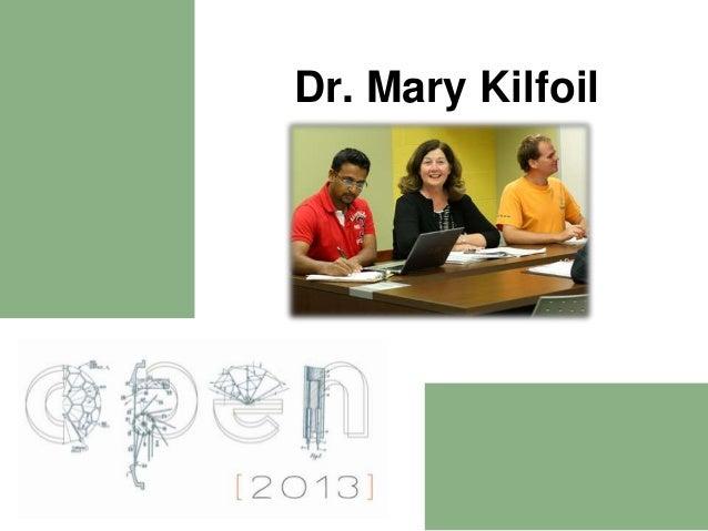 Program Models Short Presentation: Mary Kilfoil