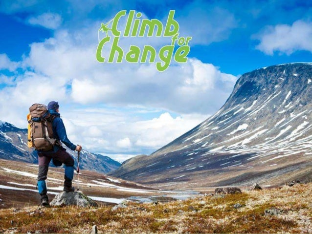 Climb for change