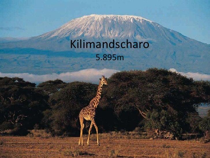 Kilimandscharo5.895m<br />