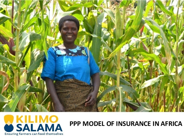 PPP MODEL OF INSURANCE IN AFRICA