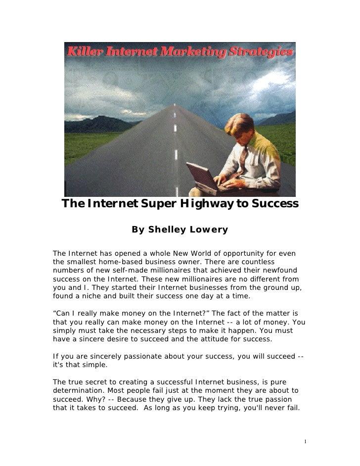 Killer internet marketing strategies