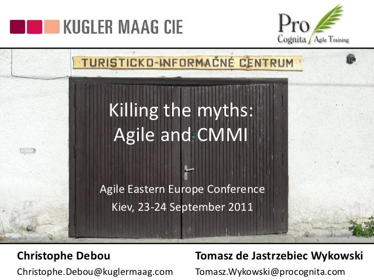 Killing the Myth: Agile & CMMI