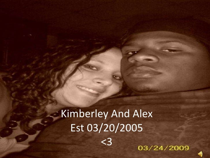 Kimberley And AlexEst 03/20/2005<3<br />