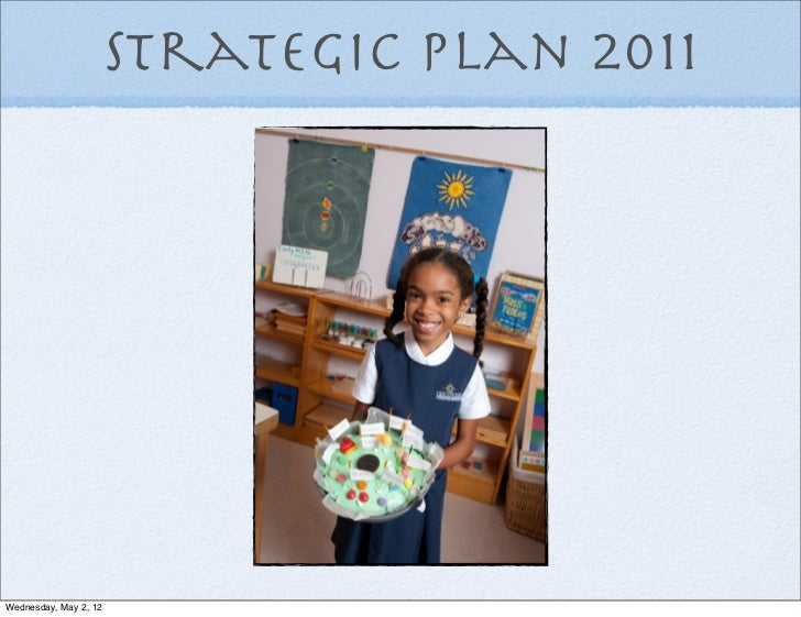 Montessori school business plan