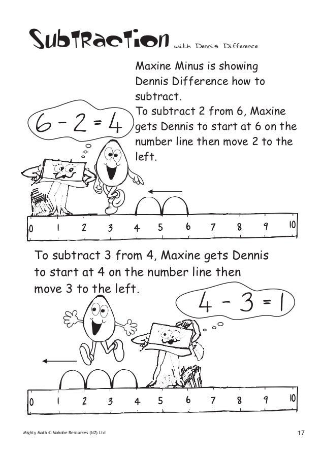 Easy subtraction worksheets year 1