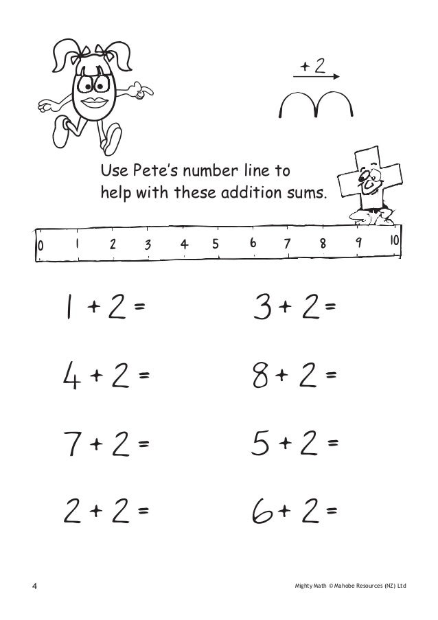 Maths homework for 6 year old
