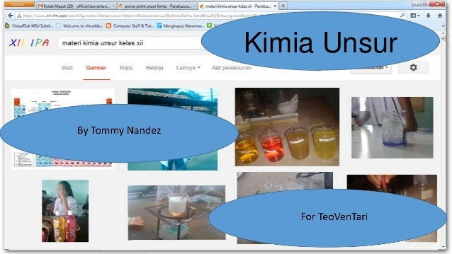 Kimia power point tommy tugas utama