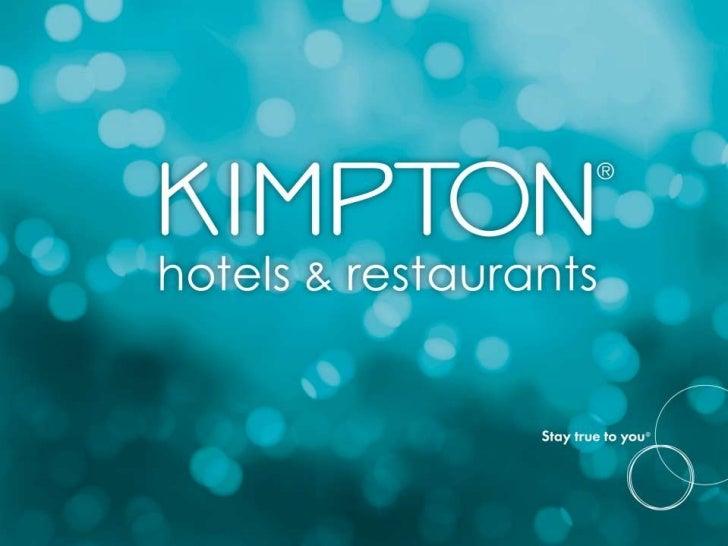 Kimpton Hotels - Destinations