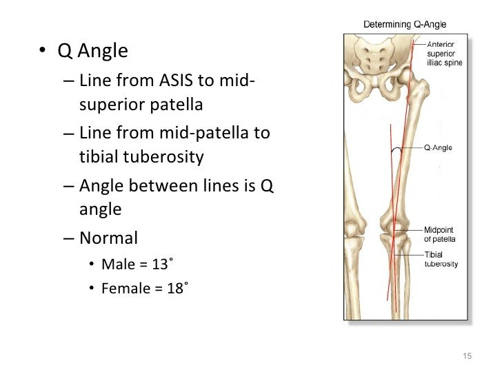 Kin191 A.Ch.6.Knee.Patellofemoral.Evaluation