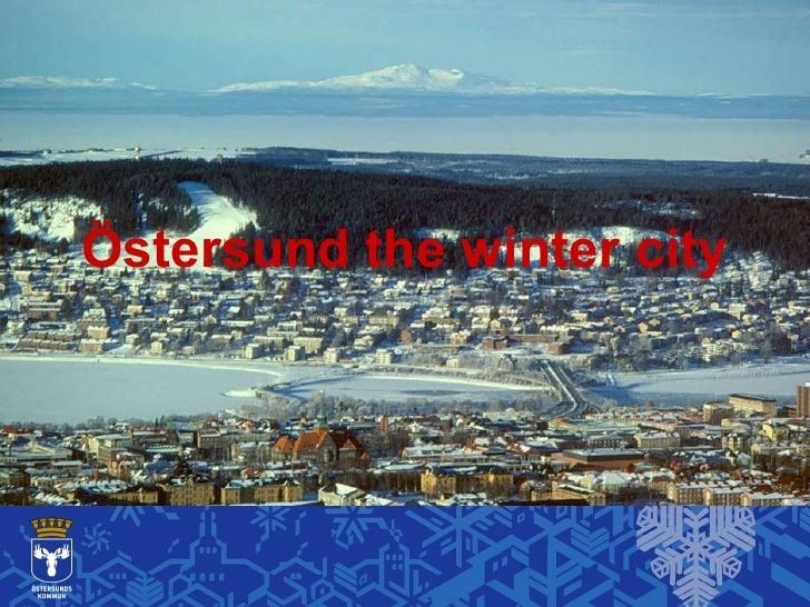 Östersund the winter city