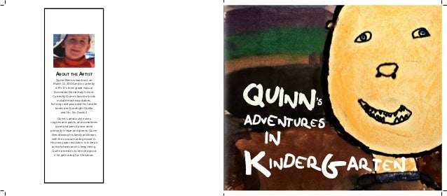 About the Artist                                       quinn    Quinn Klenow was born on March 11, 2004 and is currently  ...