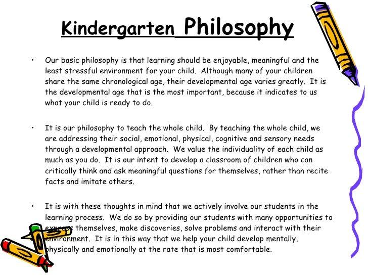 Kindergarten Curriculum 21