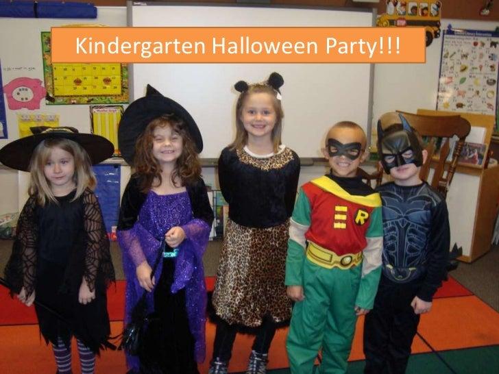 Kindergarten Halloween Party!!!