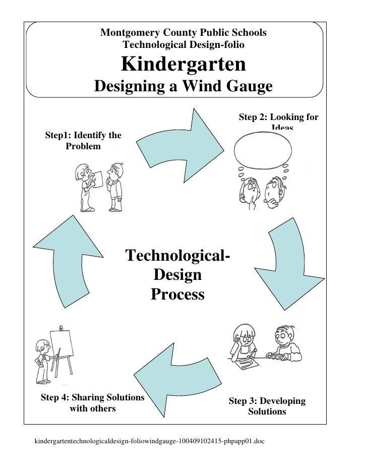 Montgomery County Public Schools                        Technological Design-folio                            Kindergarten...