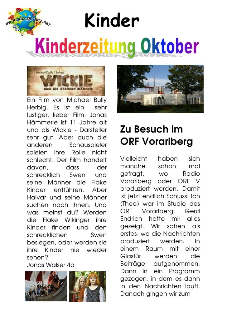 Kinderzeitung Oktober2009