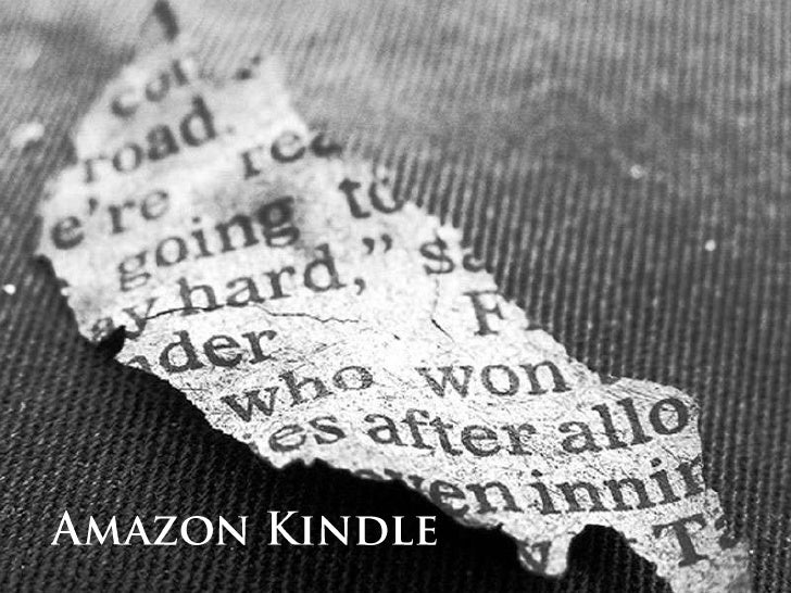 Amazon Kindle<br />