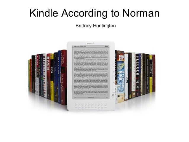 Kindle According to Norman Brittney Huntington