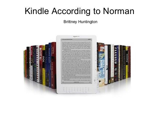 Kindle According to Norman Brittney Huntington