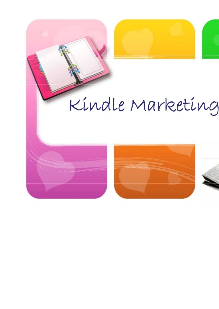 Kindle Marketing Plan