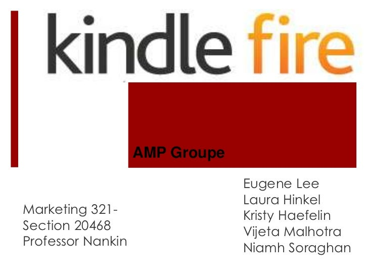 AMP Groupe                                Eugene Lee                                Laura HinkelMarketing 321-            ...