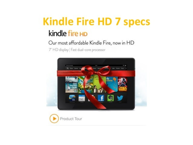 Kindle Fire HD 7 Specs Reviews - Top 10 Christmas Toys 2013