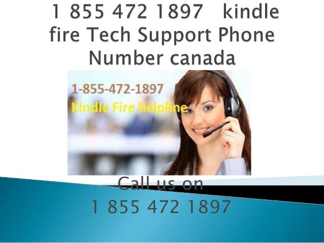 kindle fire tech support phone number