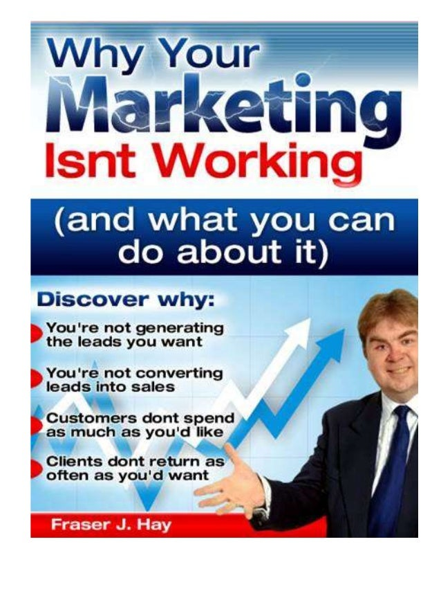 Kindle marketing ebook   why your marketing isnt working