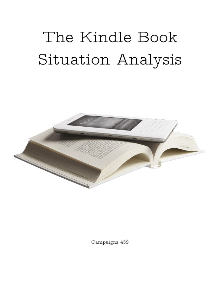 The Kindle Book Situation Analysis           Campaigns 459