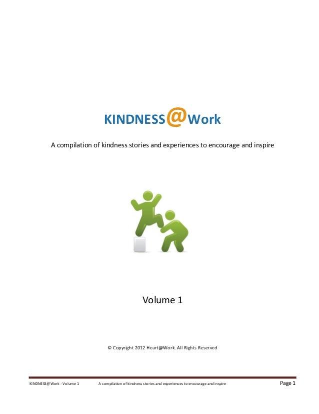 Kindness@Work e-book Forward