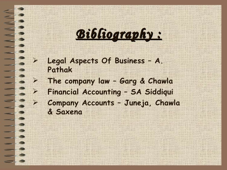 Kinds of bibliography?