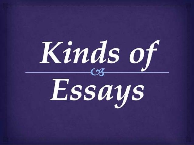 Kind of Essays