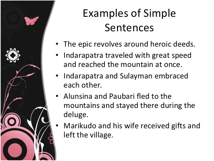 Kinds Of Sentences According To Structure
