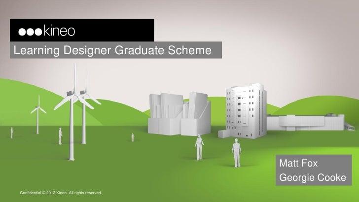Learning Designer Graduate Scheme                                                   Matt Fox                              ...
