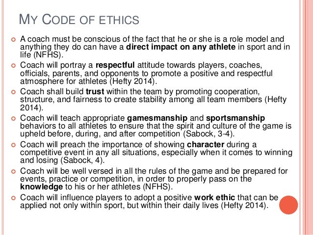 a reflection of the code of ethics in my life Code of ethics paper code of ethics paper hcs/335 december 12, 2011 everyday people have a code that they follow on a day to day basis this code helps them make decisions about their life, careers and family.