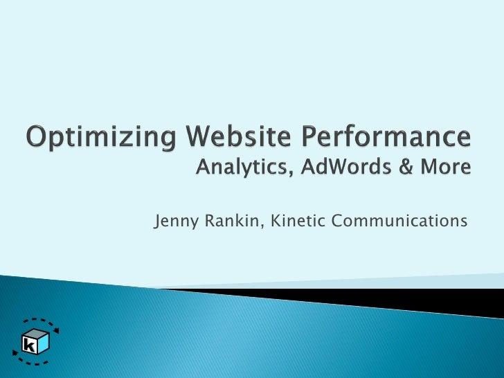 Jenny Rankin, Kinetic Communications