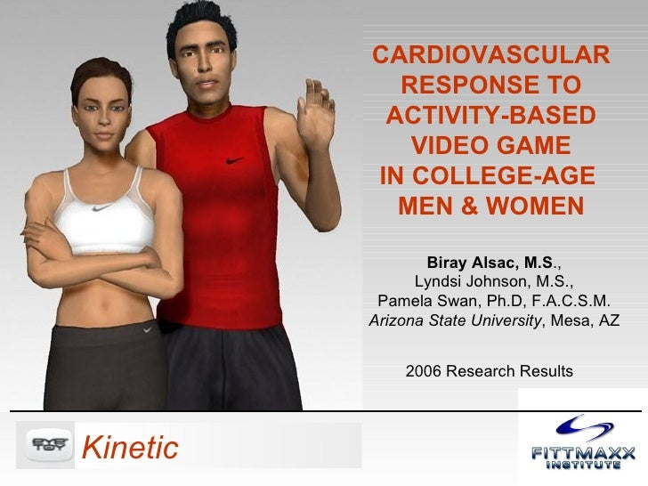 Cardiovascular Response to Video Game: EyeToy Kinetic