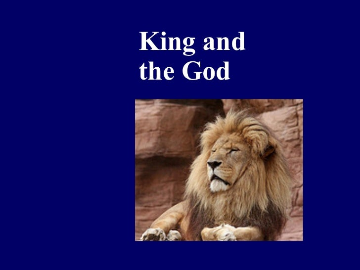 King and the God
