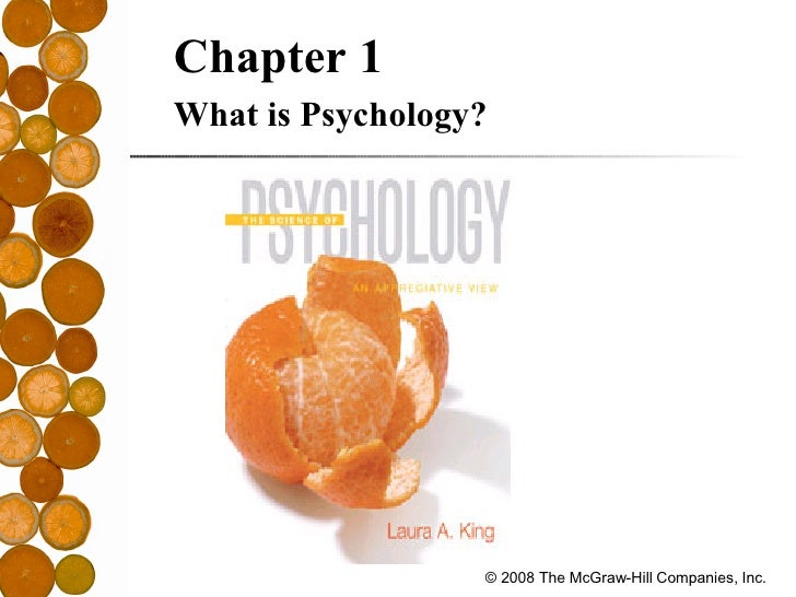 <ul><ul><li>Chapter 1 </li></ul></ul><ul><ul><li>What is Psychology? </li></ul></ul>