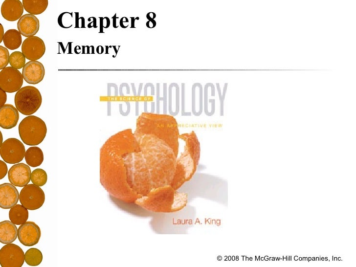 <ul><li>Chapter 8   </li></ul><ul><li>Memory </li></ul>