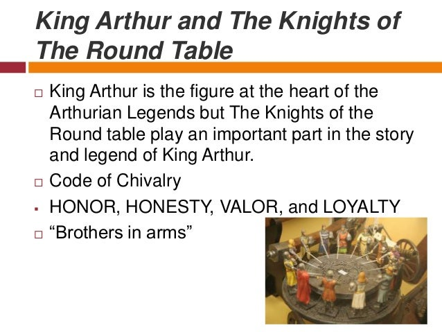 king arthur chivalry The legends of king arthur, his leading warrior the mighty lancelot and the tragic  love  literature – a real king was feted as the ultimate paragon of chivalry.