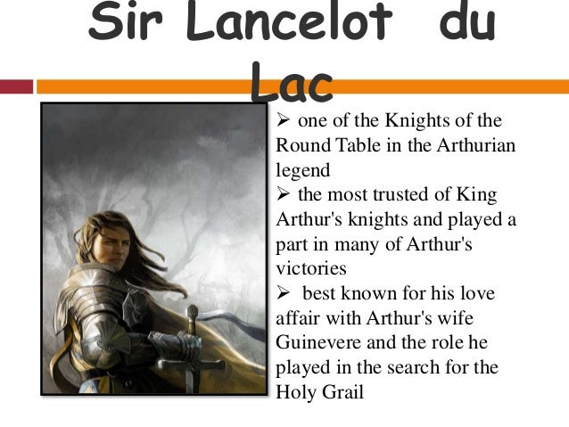 King arthur and the knights of the round table for 12 knights of the round table and their characteristics