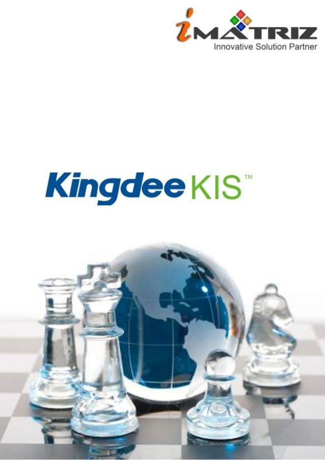 Kingdee business software flyers