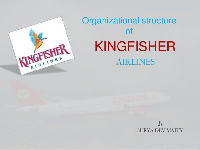 Organizational structure of KINGFISHER AIRLINES By SURYA DEV MAITY