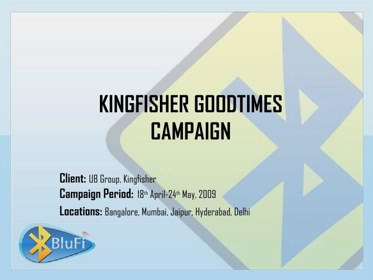 Kingfisher India-  Mobile case study